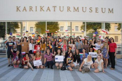 """Krems an der Donau: Europäische Jugendbegegnung """"eljub E-Book Woche"""""""